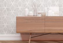 wall paper dining room
