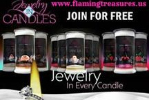 jewlery in candles / by Julie Smith