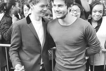 O' Sangster / THOMAS BRODIE-SANGSTER AND DYLAN O' BRIEN.