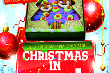 Christmas in July! / This Saturday! Decorate a non-melt Tree! At Cerreta Candy Co. from 10am-4pm! Only $10!