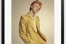 David Bowie Collection / David Bowie, Major Tom, Ziggy Stardust, Aladdin Sane, Halloween Jack, The Thin White Duke. The Late, Great David Jones was the man behind a rich treasure trove of musical alter egos and personas. Click here for a full collection: https://www.soniceditions.com/gallery/david-bowie