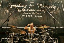 #Nagoya - #Japan / In #Concert #Symphony for #Humanity - Iwan Fals & Band in #Nagoya - #Japan.
