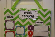 Math centers / by Cassidy Cuthill