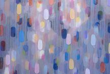 Vestiges, 2016 Recent Works / recent acrylic paintings