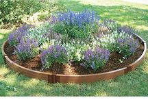 Circle Flower Bed