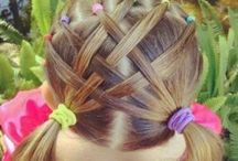 girl hair styles for school