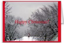 Christmas / Christmas cards and Christmas paper