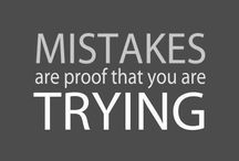 Mistakes are our friends