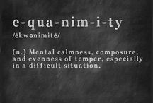 Clarity and calmness