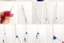 Handmade jewelry / Ctrl + F and find: #necklace #pendant #bracelets #friendship_bracelets #watch #earrings #clip #bows #belt #tip #knot