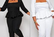 cindy is now 21  / My new style venture of modern plus size outfits