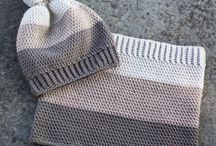 Beanie and scarf sets