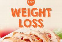 weight loss recipes / by Amanda Coulson