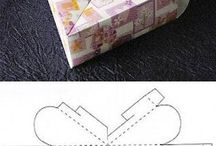 moldes de cajas de carton / by marcela opazo