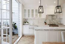 Kitchen decor and lighting