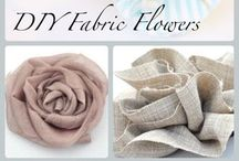 Fabric flowers / by Sheila Powell Shields