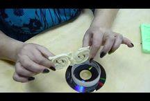 МК из старых дисков