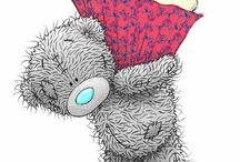Clipart - Tatty Teddy