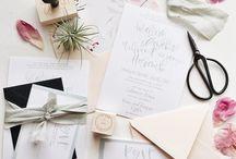 WEDDING. / Wedding Flatlay Inspiration.