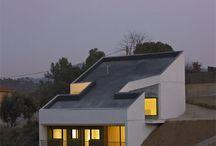 house on steep slope