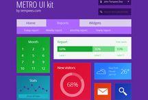 Metro UI / Metro Design Inspirations