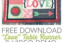 Mini Quilts & Table Runners
