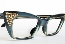 Vintage cat eye glasses / by Linda VanTreese