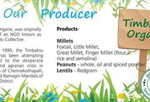 Know our Producer / Know where your fruits and vegetables come from , how your product is made
