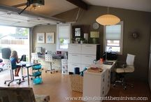 Home office + workspace / Home office and Workspace inspiration and ideas