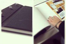 portfolios, binding & sketch books