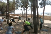 Our Yoga & Fitness Retreats / Gallery of our lovely, fit yogi's joining us here in sunny Spain to get strong(er), lean(er) & more aligned on our Yoga Fit Retreats.  See details at www.yogabreaks.org.uk