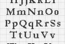 kanaviçe harfler