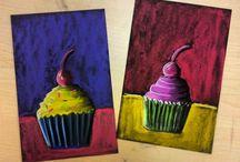 art - cupcake