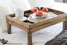 JM: breakfast tray