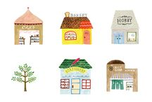 Drawing Little Houses