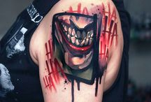 Crazy Tattoo / Joker's smile