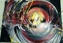 Original acrylic painting / Pure life...