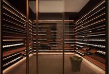 Corporate offices wine cellar