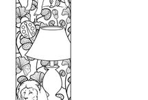 Coloring pages - the other stuff I like