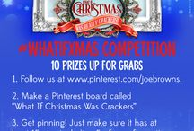 What If Christmas Was Crackers / How to enter our What If Xmas competition and have the chance to win some amazing prizes! / by Joe Browns