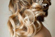 slubna fryzura