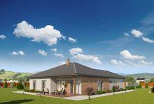 Katalog domů / Katalog nízkoenergetických rodinných domů na klíč, zděné domy, dřevostvby