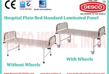 Laminate Bed Suppliers in India / We have wide stock of plain laminated bed for hospitals and clinics at cheap price. To get more details call us at +91-9810867957