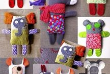 Upcycled soft toys