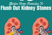 How to flush out kidney stones with least pain