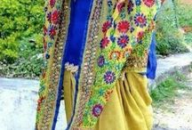 Punjabi suits..