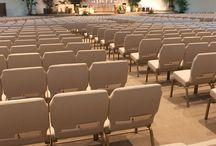 Church Chairs Installations Photos