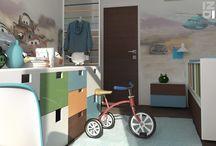 Detské izby - Návrhy | Childrens room - Ideas