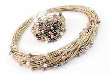 joyas con cuerdas