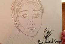 Exclusif : Joy Caloc pour AdrielConcept : l'atelier croquis, Make Yourself a Beauty as a Cartoon Babe...